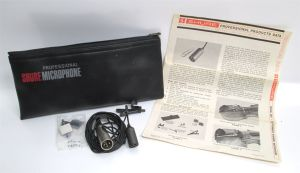 Shure SM17 SM-17 Miniature Dynamic Omnidirectional Lavalier Microphone Mic