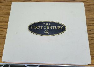 THE FIRST CENTURY BY MERCEDES-BENZ ILLUSTRATED BY KEN DALLISON #615 OF 2000