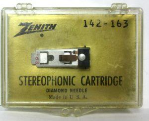 Zenith 142-163 Stereophonic Cartridge Diamond Needle for Turntable