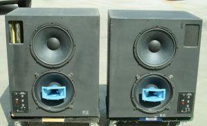 PAIR of UREI 840 Speakers Recording Studio Monitors