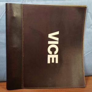 VICE Movie 2018 FYC PROMO Leather Bound SCREENPLAY Script SIGNED Adam McKay