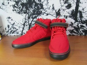 Adidas Rise Mid Men's Red Sneaker Shoes Size 10.5 U.S