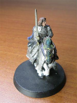 Lord of The Rings LOTR Mounted Aragorn Games Workshop Metal Figurine