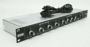 Rack mount Rane MLM 82S Mic and Stereo Line Mixer MLM82S #2763