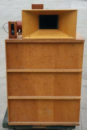 Rare Vintage 60's unmodified High Fidelity House Klipsch cabinet JBL 375 EV 15W