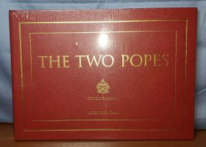 THE TWO POPES FYC 2019 Movie Promo CONCLAVE MMXVIII Hardcover Photo Book SEALED