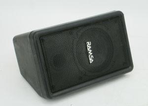 1x Panasonic FULL-RANGE BASS REFLEX Monitor RAMSA WS-A10-K Speaker