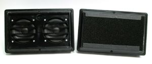 PAIR of Galaxy Audio HOT SPOT Personal Vocal Monitor Speakers – BLACK