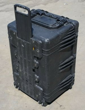 Pelican 1660 Protector Case with Wheels and Foam Black