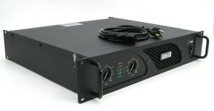 Rackmountable Crest Audio LT1000 LT 1000 500 Watt Power Amplifier Amp
