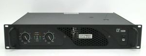 Rackmountable Crest Audio LT1500 LT 1500 750 Watt Power Amplifier Amp #4