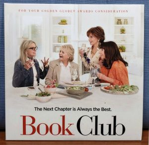 BOOK CLUB 2018 FYC Best Original Song CD Living In The Moment KATHARINE McPHEE