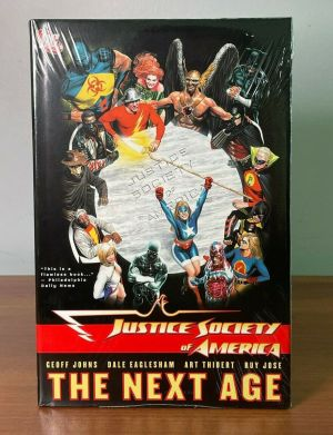 DC Comics 2007 Justice Society of America-The Next Age Hardcover TPB SEALED NEW