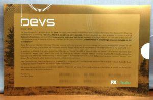 DEVS FX HULU 2020 Official Promo Book in LUCITE FRAME Alex Garland NICK OFFERMAN