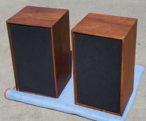 """Pair Vintage Utah HS4-B 3-way 12"""" Speakers High Fidelity"""