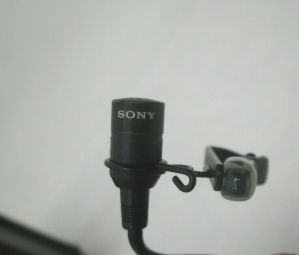 SONY ECM-44B ELECTRET CONDENSER MICROPHONE