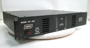 ASHLY FET-200 2-Channel Stereo MOS FET Power Amplifier 100W/CH @ 8-OHMS #4298