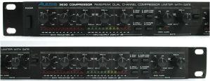 Alesis 3630 RMS/PEAK 2-Channel Compressor / Limiter with Gate – NO PSU