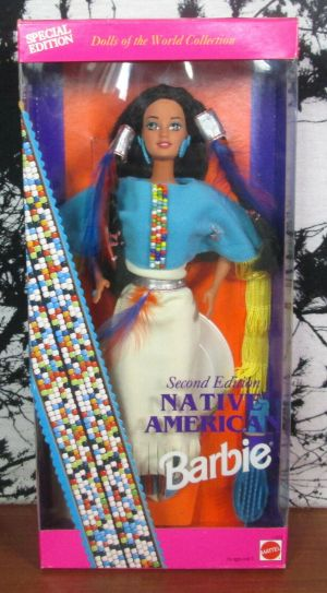 Barbie By Mattel 11609 Native American Doll Second Edition 1993