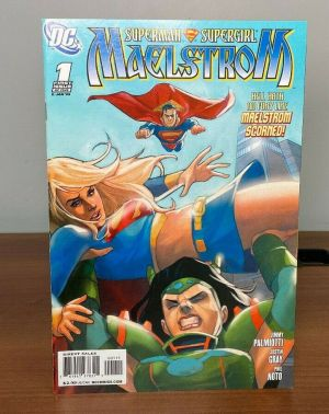 DC Comics Superman and Supergirl – Maelstrom Issue #1