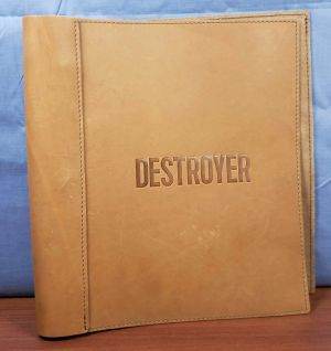 DESTROYER FYC PROMO Leather Bound SCREENPLAY Script HAND SIGNED Nicole Kidman