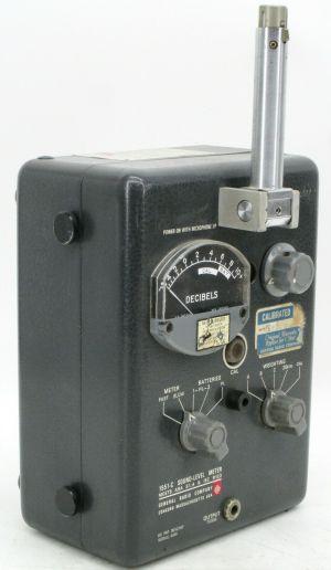 General Radio Co 1551-C Sound Level Meter Type 1560-P5