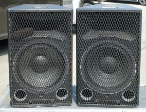 Pair of Meyer Sound Ultra Series UPA-1A Loudspeaker Speakers