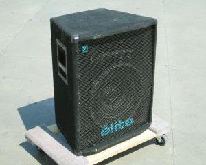 SINGLE – Yorkville ELITE EX401 Wedge Monitor Stage Speaker EX 401 #681