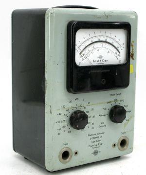 Vintage B&K Bruel & Kjaer 2-200000 Measuring Amplifier Voltmeter
