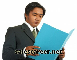 Sales Resume Improved by having it Reviewed