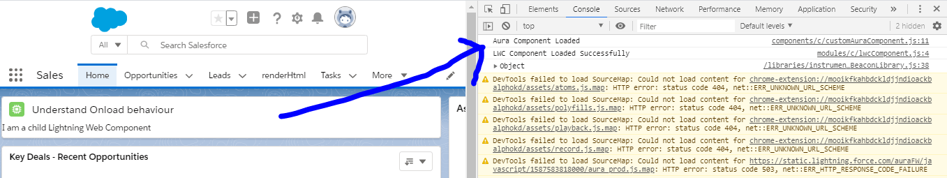 Onload in Aura Vs Lightning Web Component