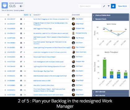 Salesforce Backlog Agile Accelerator