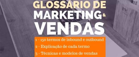 Glossário de marketing e vendas