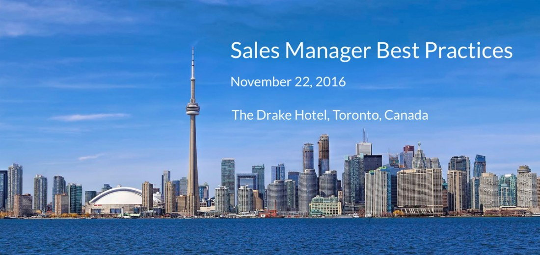 Sales Manager Best Practices 2016