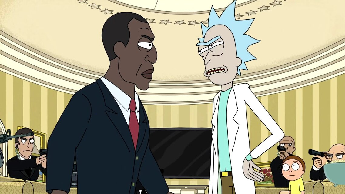 Rick and The President