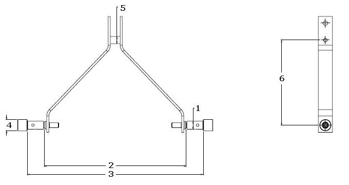 Category 2 Hitch Dimensions