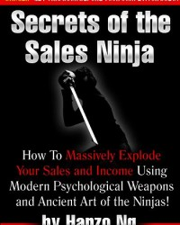 Secrets of the Sales Ninja book front