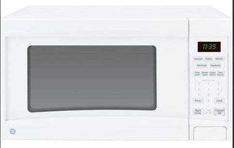 ge general electric jes1139dsww countertop microwave oven white 1 1 cu ft replaced jes1139wlww jes1139dsw jes1139ds jes1139