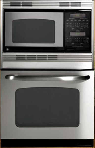 ge general electric jtp90spss combination wall oven with 4 4 cu ft self cleaning oven 30 size 1 6 cu ft upper 4 4 cu ft lower capacity super large oven unit capacity double oven configuration microwave traditional