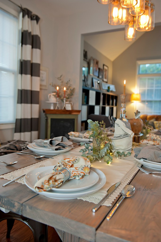 Holiday Table Decor | Transitional Table