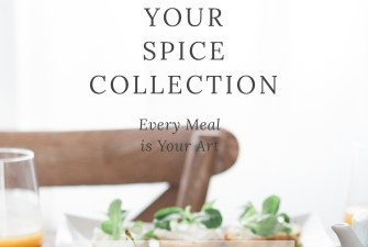 Building Your Spice Collection