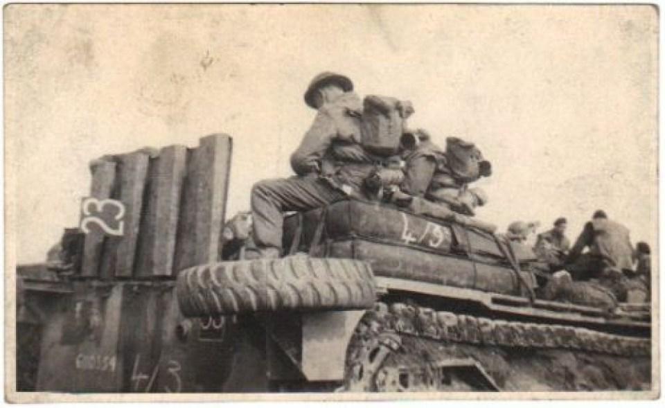Battle of Rhine March 24 1945