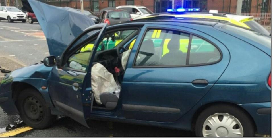 Regent Road crash - gmptraffic2