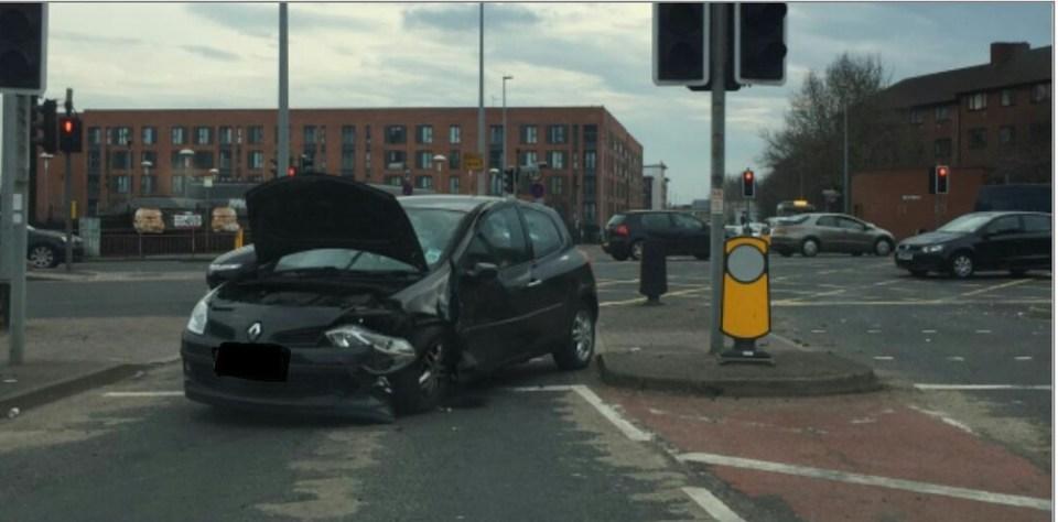 Regent Road crash - gmptraffic3