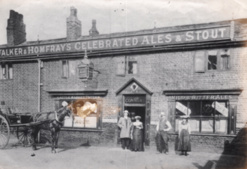 Cross Lane Cattle Market Tavern © Salford Local History Library