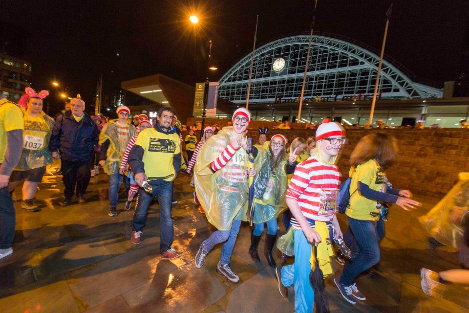 FREE TO USE PICTURE BY CHRIS BULL 25/6/16 St Ann's Hospice Midnight Walk 2016.