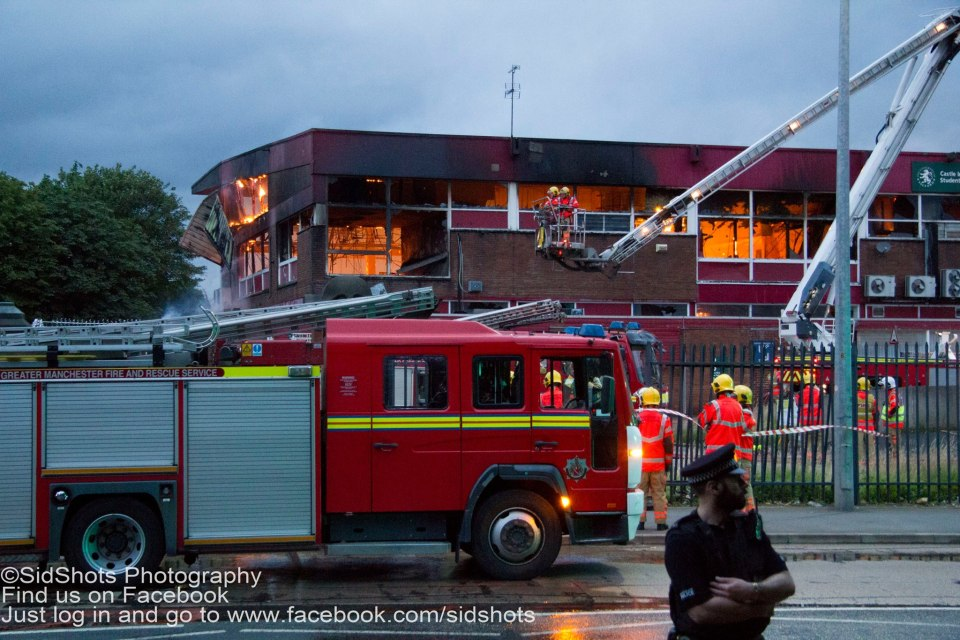 Castle Irwell Fire 2 100716