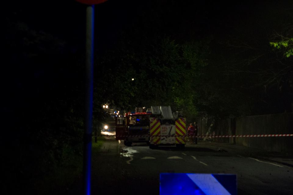 Greater Manchester Fire crews on Duchy Road - Sidshots Photography