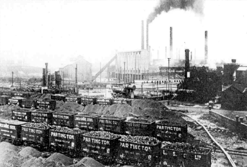 Partington Iron Works in full flow in 1915