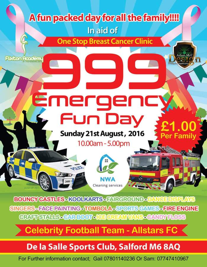 999 Emergency Fun Day